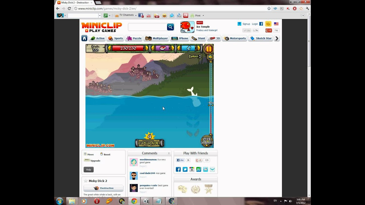 Moby dick 2 hack health youtube