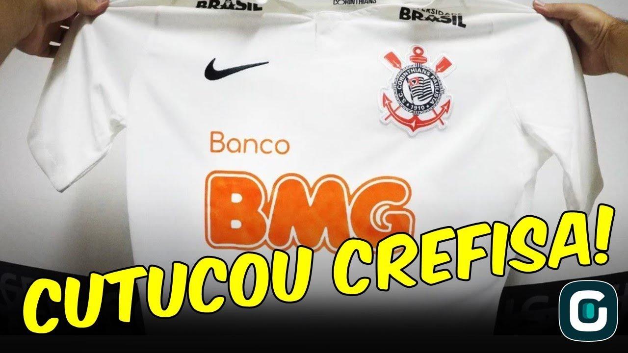 BANCO BMG x CREFISA  Corinthians anuncia patrocinador 9d1369230f4ed