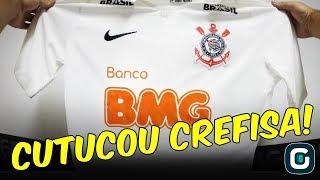 BANCO BMG x CREFISA; Corinthians anuncia patrocinador, que PROVOCA PARCEIRA do Palmeiras (17/01/19)