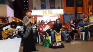 aku dalam teka teki-The legend band busker cover wan
