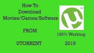 Gambar cover How To Download From Utorrent 2019-2020 | 100% Working |