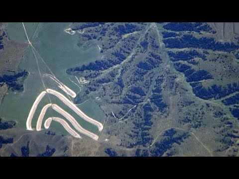 Chicago (ORD)-San Francisco flight: Takeoff 28R,  I-80 of Iowa, Yosemite, landing 28R 2015-08-07