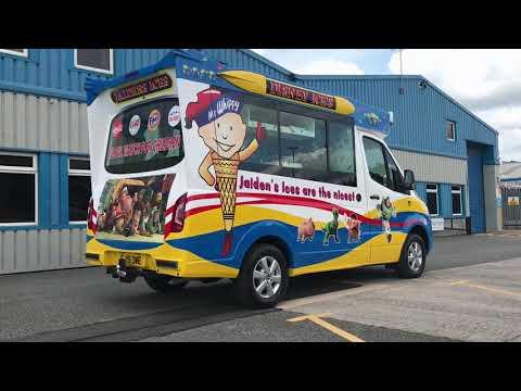 2019 Ice Cream Van by Whitby Morrison