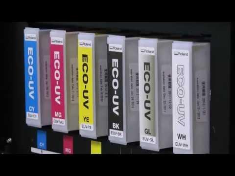 Eco UV Inks