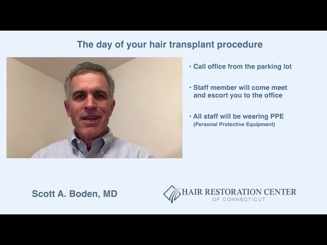 Hair Restoration Center Of Connecticut COVID-19 Office Policy Updates