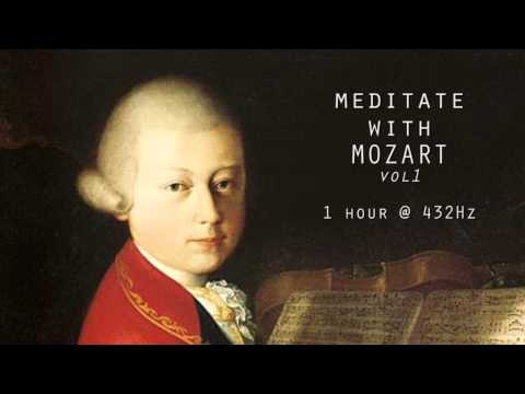Meditate with Mozart @ 432Hz Classical Piano  Vol 1