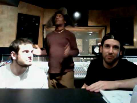 Gizmachi in the studio March 2010