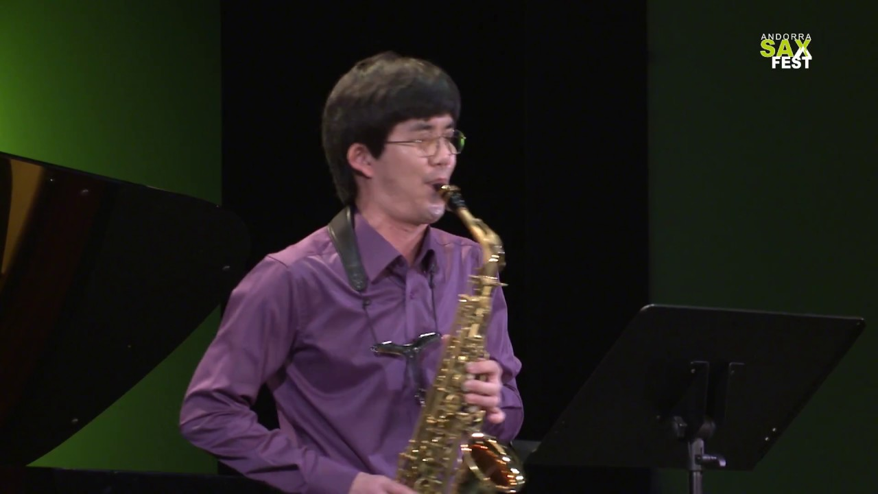 DONGGUN SONG - FIRST ROUND - IV ANDORRA INTERNATIONAL SAXOPHONE COMPETITION 2017