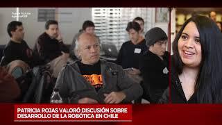 Patricia Rojas valoró discusión sobre desarrollo de la robótica en Chile