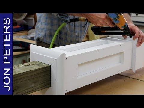 How to Build a Sign or Mailbox Post -  Free Plans by Jon Peters!