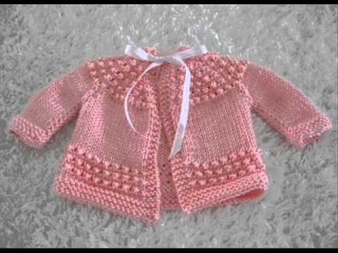Easy Crochet Baby Sweater For Beginners