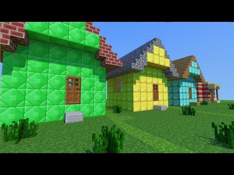 Minecraft Mod Casas Em Um Segundo Instant House Mod