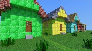 Minecraft Mod - CASAS EM UM SEGUNDO!! - Instant HOUSE MOD thumbnail