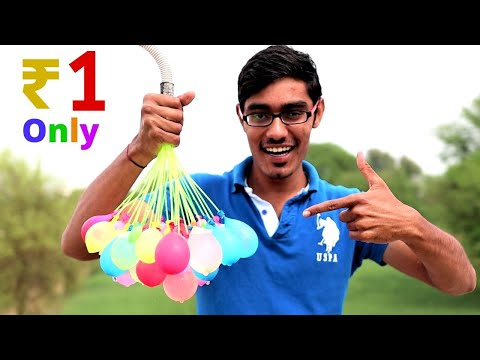 AUTO FILLING WATER BALLOONS | #Holi2020