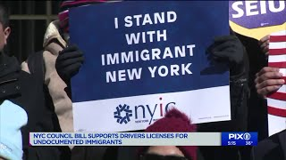 NYC council bill supports drivers licenses for undocumented immigrants