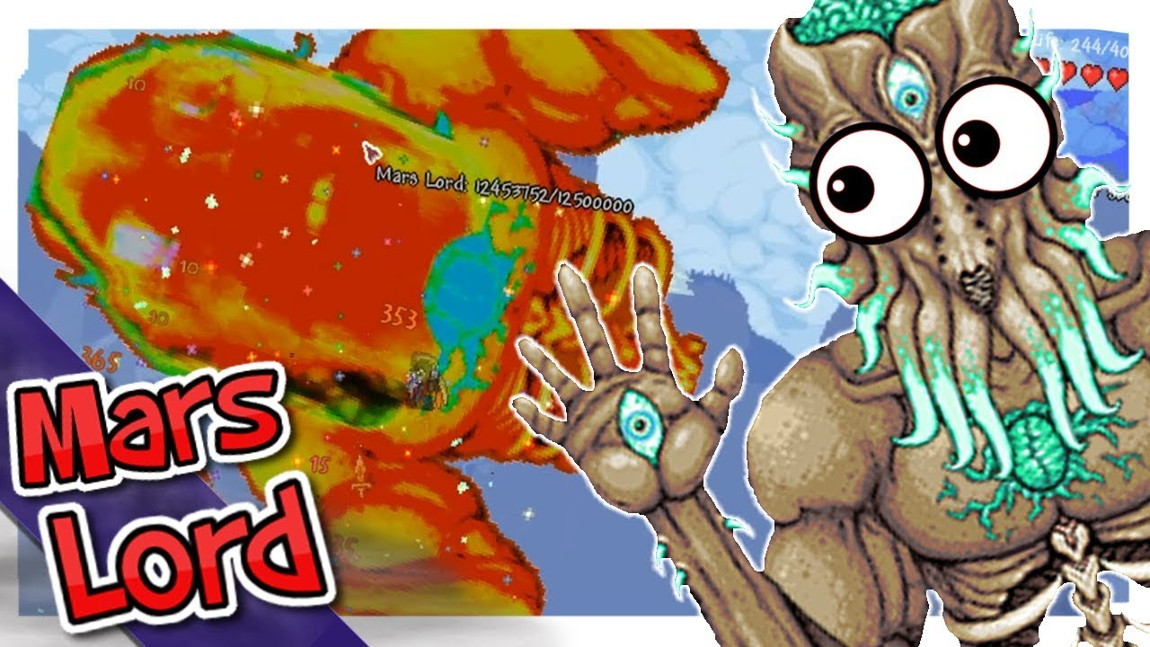 Moon Lord Meets Dragon Ball?! | Terraria Mod Spotlight: Mars Lord -  MabiVsGames