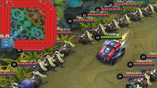 RACE TRACK AROUND THE MAP! Mobile Legends Johnson