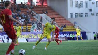 Обзор матча Казахстан U 21 Бельгия U 21 1 3 Отборочный турнир EURO 2023