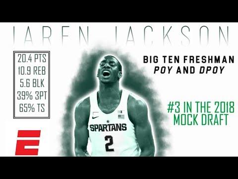 Jaren Jackson Jr.'s 2018 NBA Draft Scouting Video   DraftExpress   ESPN