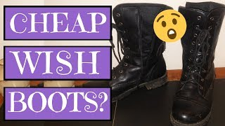 Riding Boots from Wish | Product Review