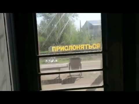 Прибытие на станцию Малоярославец на ЭР2Т 7156