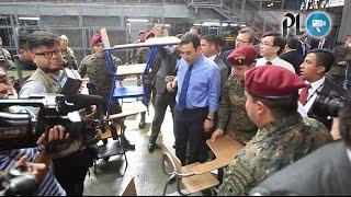 Golpean al presidente Jimmy Morales | Prensa Libre