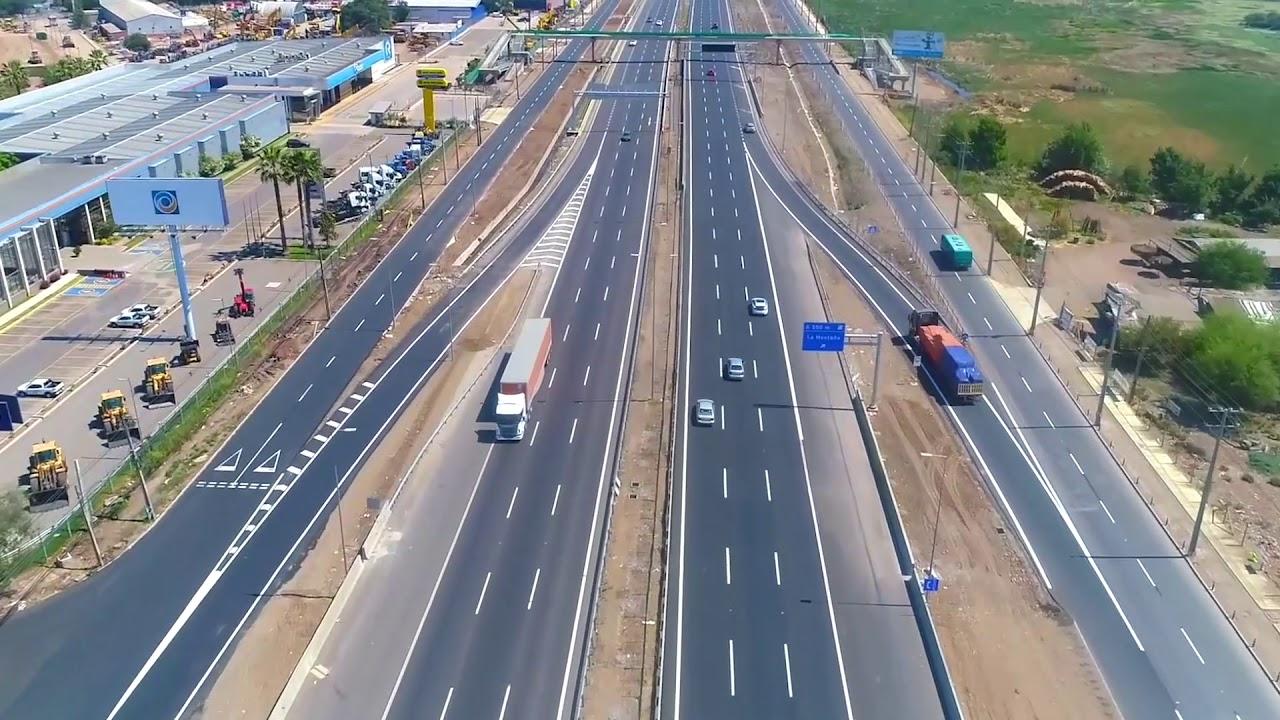 Puesta En Servicio De Un Tramo De La Autopista Santiago Lampa En