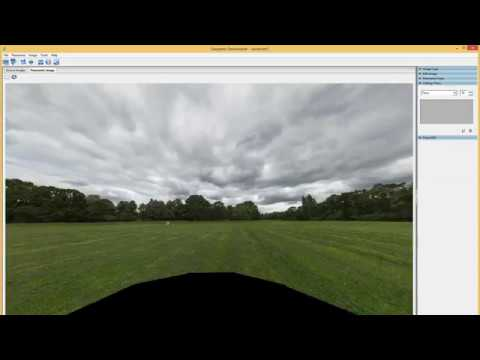 Part 10 - Worked example of making a panoramic skybox (Belair Park)