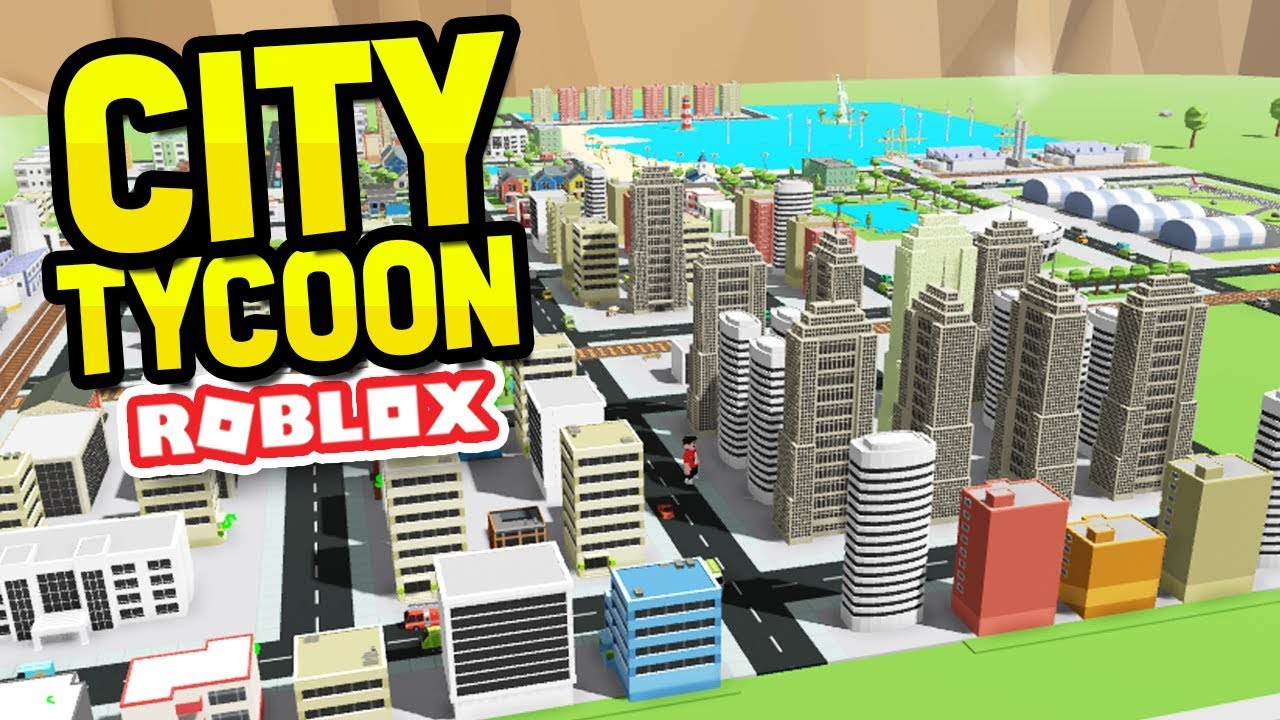 Roblox Create A Tycoon Huge Skyscraper City In Roblox City Tycoon Youtube