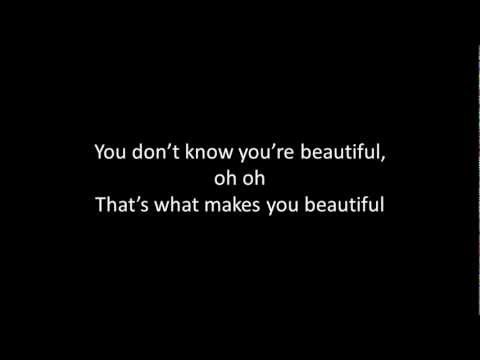One Direction What Makes You Beautiful ( Boyce Avenue Cover ) - With Lyrics