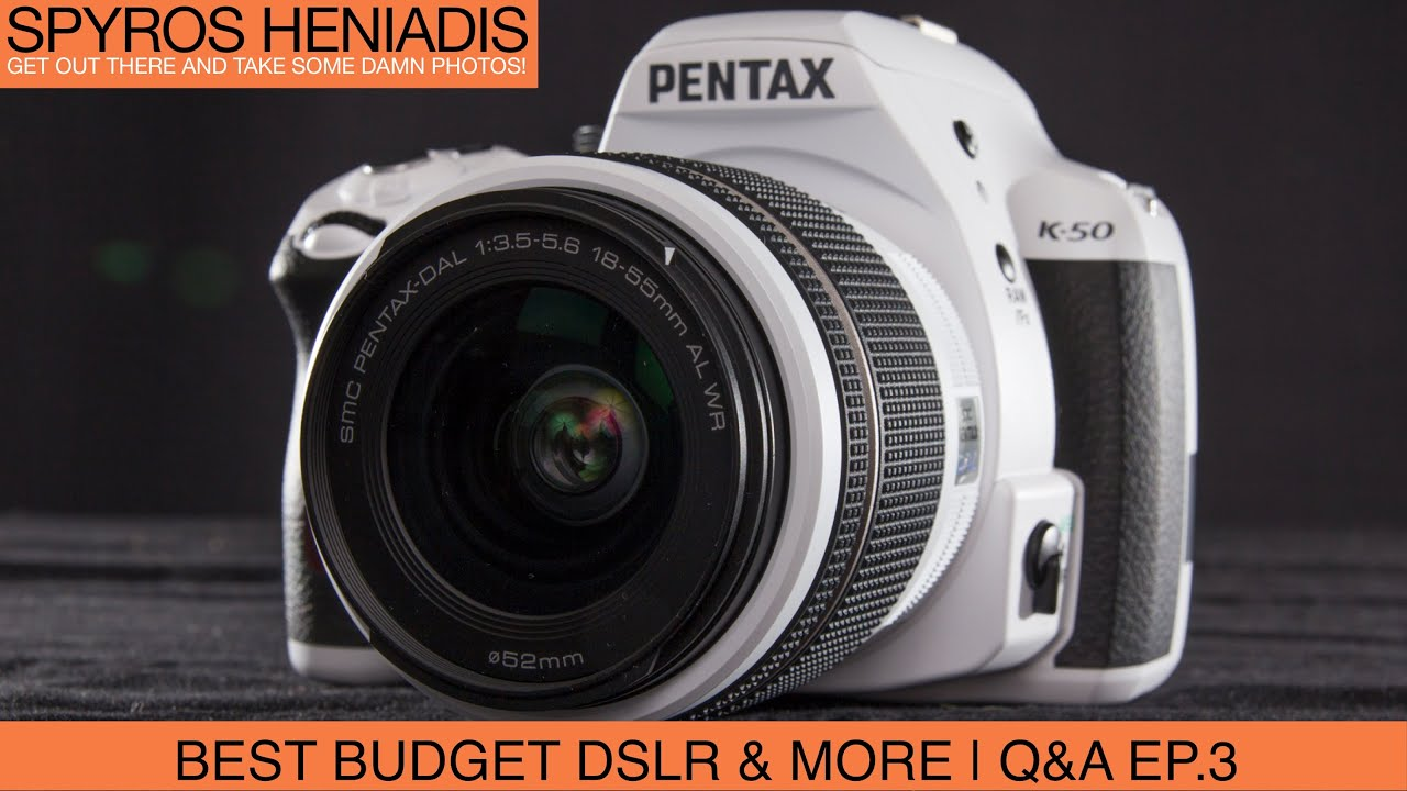 Best Budget Dslr Exposing To The Right Full Frame Lenses