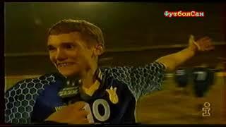 Украина Северная Ирландия 2 1 Шевченко Ребров 1997