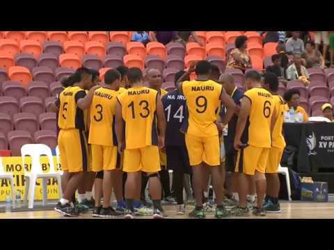 Pacific Games  2015 D10 VOLLEYBALL M M12 NAURU vs AMERICAN SAMOA