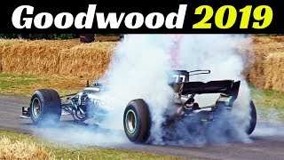 Goodwood Festival of Speed 2019 - Day 4 Highlights - Supercars Madness, F1, Rally cars, Drift & More