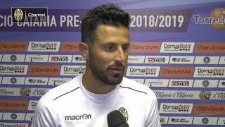 Catania - Verona 2-0 - Terzo Turno di Coppa Italia 2018/19 : L'intervista a Fabio Grosso