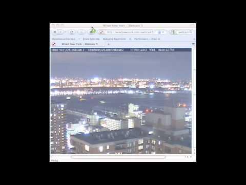 UFO WEBCAM NYC 11/17/2010 WAKE UP!