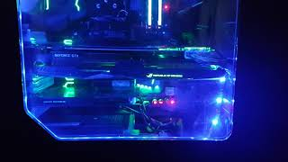 Mystic Light MSI Z270 M7 & GTX 1080ti Control Aura RGB LIGHT