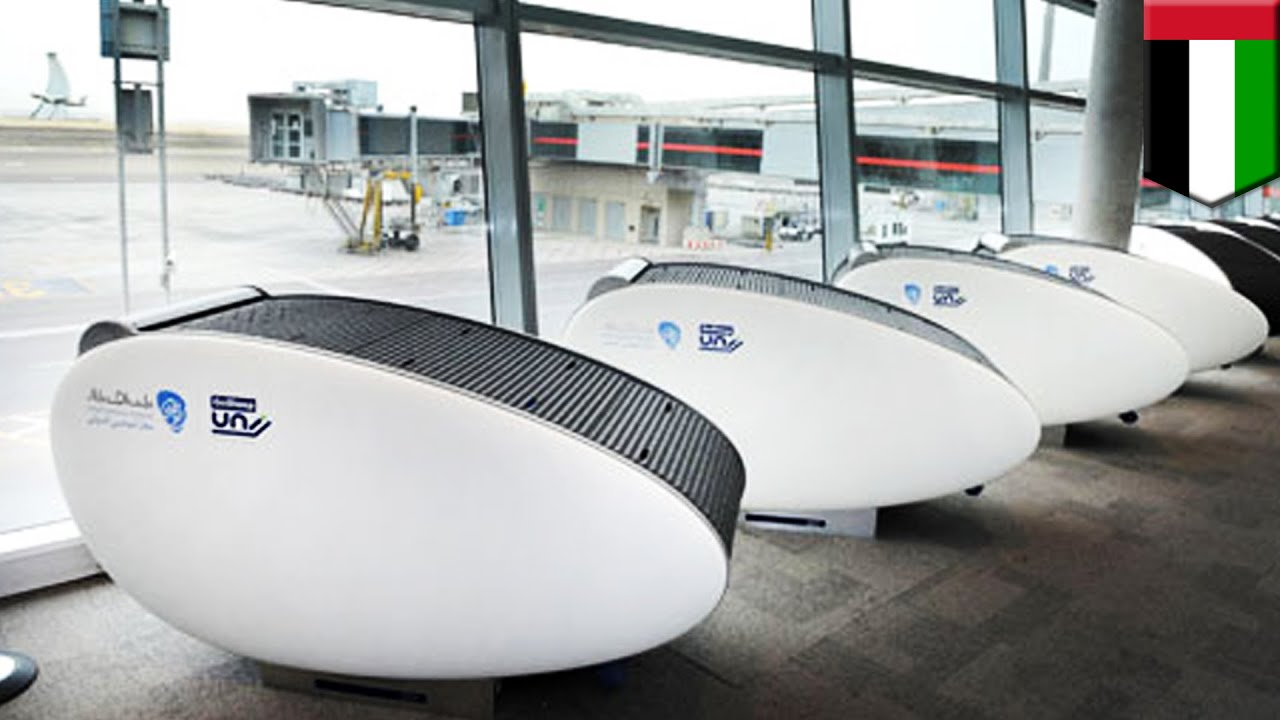 Sleeping pods in airports and elsewhere allow you to get some shut eye in public - TomoNews
