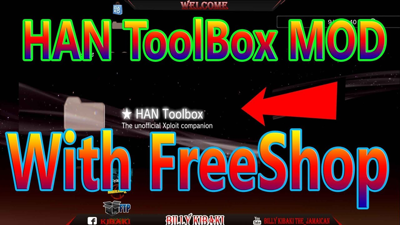 Ps3 HAN ToolBox With A Small FreeShop inside For Han PS3