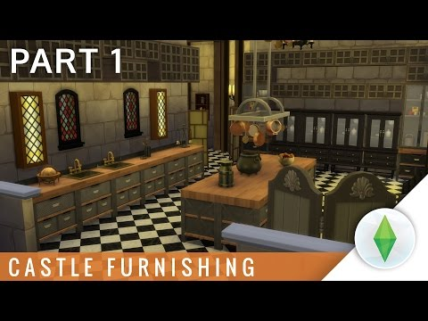 The Sims 4 Castle Furnishing Part 1