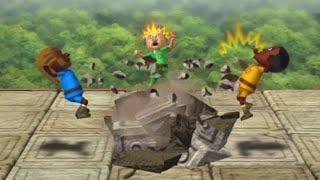 Wii Party U Funny Minigames - Ganondorf Vs Juilette Vs Bowen Vs Joseph