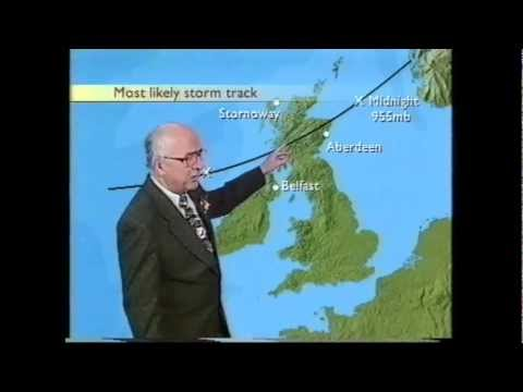 BBC Weather Christmas 1998 and the Boxing Day storm