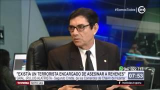 General en retiro Alatrista descartó ejecuciones extrajudiciales en operación Chavín de Huántar