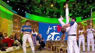 Le Brésil sur le plateau en mode Capoeira ! - Je t'aime etc