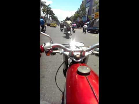 Xe 67 săn bắt cướp trên phố đà nẵng