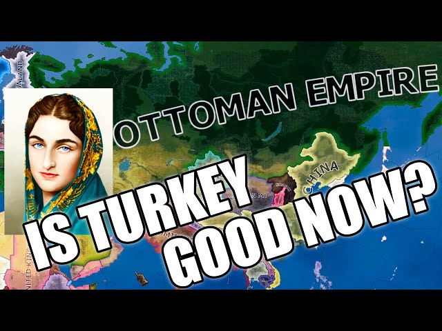 Turkey restores the Ottoman Empire with Sultana in BfB