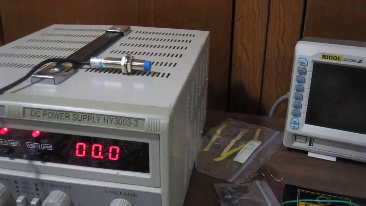 Wire 4mm Inductive Proximity Sensor Approach Switch Npn No Ebay