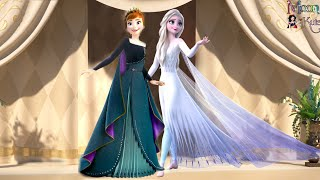 Queen Elsa and Queen Anna Frozen 2 [ Exclusive ]