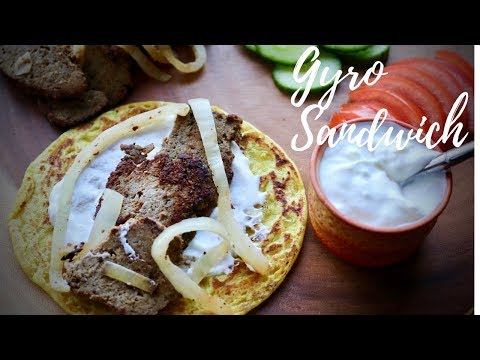 GREEK STYLE GYRO SANDWICH | PALEO | KETO FRIENDLY | FOOD WITHOUT BORDERS | EP 56