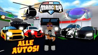 😨 *ALLE UNSERE AUTOS* IN MAD CITY ROBLOX